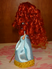 Brave Mini Doll Set - Deboxed- Formal Princess Merida - Right Side View (drj1828) Tags: 6 set store doll pieces princess teal formal mini disney merida pixar brave gown deboxed