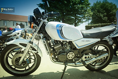 Yamaha RD 350 (~FreeBirD~) Tags: new uk england vintage nikon bridgestone engine vivid motorcycles running racing special chain chrome yamaha beast colourful adventures did powerful shining challenge 1976 rd caferacer twostroke freebird heartbeat a1m downpipes rd350 likenew twowheels threeforks discbrakes alloywheels 350cc yamahalogo spankingnew manibabbar yamahamotorcycles squirescafebar yamahard350 350rd manibabbarphotography ridinginuk yamahauk yamahaera braideddisccables motorcyclingpassion whiterd350 yamahawhiterd350 colourschemerd