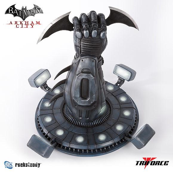 TRIFORCE - 蝙蝠俠:阿卡漢城市 蝙蝠飛鏢1:1複製品
