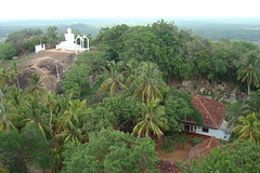 a view from the top of the Aradhana Gala, Mihintale, Sri Lanka (Hasitha Rangana) Tags: temple buddhisttemple sacredsite anuradhapura anuradapura sagiri mihinthale segiri missaka cetiyagiri solosmasthana missakapabbata missakapawwa missakapavva