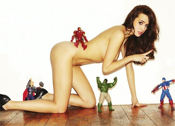 復仇者聯盟玩具+女孩攝影作品