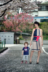 Charlie's First Modelling Assignment (Alfie | Japanorama) Tags: woman cute fashion japan asian tokyo model nikon pretty child flash charlie sakura sb800 offcameraflash 80200mmf28