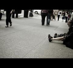 DSC_5260 (john fullard) Tags: street city urban newyork manhattan candid homeless sidewalk pedestrians footpath