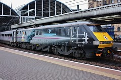 East Coast Trains Class 91 Electric No. 91110 at Newcastle Central Station (allan5819 (Allan McKever)) Tags: uk england station electric train newcastle central platform rail railway aeroplane express passenger airforce northeast tyneside highspeed intercity eastcoast lestweforget 225 ecml class91 91110 battle0fbritainmemorialflight