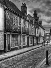West Street (Explored) (Steve's Photography :-)) Tags: uk england blackandwhite bw monochrome mono kent nikon d200 hdr weststreet faversham steveclancy