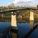 Torrente Agogna - Ponte pedonale nei pressi della C.na Mondurletta