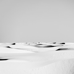 Dune Sea (agavephoto) Tags: shadow blackandwhite white newmexico nature sunshine square landscape grey still quiet desert bright dunes horizon fineart curves calm zen highkey ripples minimalism simple gypsum clearsky windblown endless whitesandsnationalmonument needahat onedayillshootlightninghere juststaringoutintothedistance