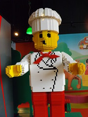 Chef (CoasterMadMatt) Tags: park uk greatbritain england west english statue manchester photography amusement model lego photos unitedkingdom britain centre north tourist indoors creation photographs photograph chef merlin gb theme amusementpark british inside northern trafford discovery themepark attraction legoland 2012 dayout traffordcentre northwestengland thetraffordcentre legolanddiscoverycentre merlinentertainments legolanddiscoverycentremanchester coastermadmatt
