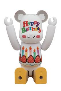 BE@RBRICK グリーティング 誕生日
