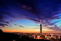 Taipei 101 /  101 (kth517) Tags: taiwan taipei taipei101 aftersunset 101