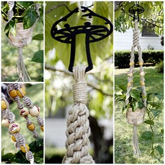 Happy Shrooms :) Handmade Natural Hemp Macrame Plant Hanger (Macramaking- Natural Macrame Plant Hangers) Tags: summer plants plant green love yellow hippies garden festive mushrooms happy beads office colorful pretty natural herbs gardening handmade oneofakind decorative character cottage creative adorable craft northcarolina funky retro hanging fengshui flowing organic chic etsy cheerful boho groovy knots hang amore bohemian homedecor hanger shrooms macrame fibers whimsical stylish hemp madeinusa ecofriendly accessory conversationpiece hangingbasket custommade blackmetal shabbychic hangingbaskets bohochic containergardening macram planthanger planthangers plasmacut hangingplanter decorativeknotting naturalhemp macrameplanthanger macramakin macramaking httpwwwetsycomshopmacramaking macramecord chinesecrownknots macramehangingbasket