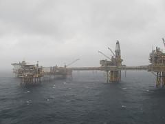 Old Ekofisk platforms (thulobaba) Tags: sea norway energy offshore platform gas northsea rig oil production derrick drilling ekofisk