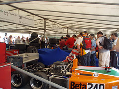 Crowds in the Paddock (jane_sanders) Tags: sussex march mms westsussex f1 formulaone formula1 fos goodwood 240 paddock cosworth 761 festivalofspeed gfos goodwoodfestivalofspeed marchcosworth761 movingmotorshow