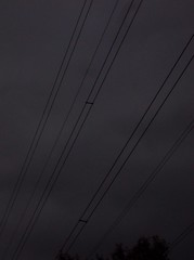 Under the Wires (spratpics) Tags: england spooky wires electricity teesside billingham northeastengland nationalgrid spookymagic underthewires landofthethreerivers teesvalleyengland teessideengland artworkbypaulwalker blackwhitephotographybypaulwalker spookyartworkandphotographybypaulwalker