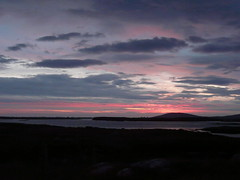Lochboisdale sunset (Rodents rule) Tags: sunset campsite southuist lochboisdale