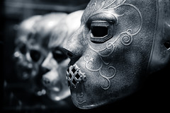 The Death Eaters (The Green Album) Tags: metal harrypotter masks deatheaters abigfave warnerbrosstudiotour