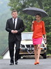 Brian O'Driscoll and Amy Huberman The wedding of model Aoife Cogan and rugby star Gordon D'Arcy, held at St. Macartan's Cathedral Monaghan, Ireland