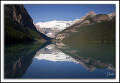 Lake Louise (Darian Froese) Tags: lake canada mountains reflection stream peaceful calm alberta banff rockymountains lakelouise banffnationalpark