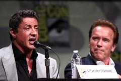 Sylvester Stallone & Arnold Schwarzenegger (Gage Skidmore) Tags: california 2 san comic sylvester arnold schwarzenegger diego center terry convention randy couture con 2012 stallone crews lundgren dolph expendables
