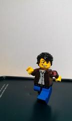 clutch powers custom made by hubby (Like Lego) Tags: lego clutch minifigs powers