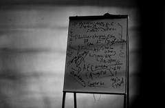 Semiotic notes (PonchoAlarcon) Tags: blackandwhite bw blancoynegro notes board whiteboard bn seminar notas monterrey blackboard tep semiotics seminario pizarron semiotica pintarron conarte ponchoalarcon notasenpizarron notasenpintarron