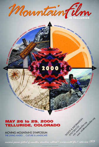 2000 Mountainfilm in Telluride Festival Poster