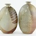 370. (2) Joe Winter Flounder Form Vases