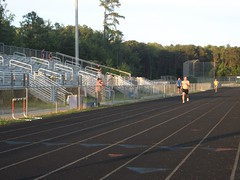 100_2431 (Chesapeake Bay Running Club) Tags: track 2012 davew cbrc trackmeet 400m jefft dougn cbrctwilighttrackseries photobylizarecto track2012 cbrctrackseries2012 cbrctrackseries 2012ts6