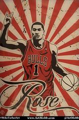 D Rose Thearpy (MikeFarhatArt) Tags: d rose mvp bulls chicago a