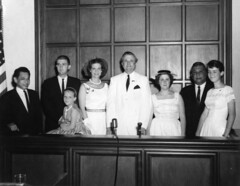 Governor Bill Daniel and Family at the Legislature