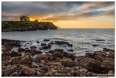 La Isla (Eltrujas) Tags: espaa marina landscape atardecer mar spain asturias playa paisaje rocas laisla