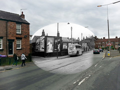 Church Road, Wavertree, 1950s in 2016 (Keithjones84) Tags: liverpool oldliverpool rephotography thenandnow history merseyside architecture