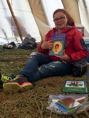 IMG_2447.JPG (creehealth) Tags: teepee mamoweedow fort george canada quebec cree james bay tipi indigenous eeyouistchee summer people story books storytelling