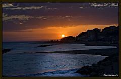 Tramonto d'estate a Secca Grande - (Ribera) - Luglio-2016 (agostinodascoli) Tags: mare spiaggia nikon nikkor seccagrande ribera sicilia sunset tramonto viaggi travel landscape turismo acqua lido paesaggi agostinodascoli sole estate luglio