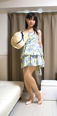 DSC08418 (mimo-momo) Tags: crossdressing crossdresser crossdress transvestite japanese onepiece skirt