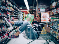 What's your mix? (that mad hatter's teacup) Tags: portrait portraits colors color grocery cereal cereals illgrammers killergrammers gramkilla exploresingapore mkexplore artofvisuals art love lovely streetleaks singapore jeans girl photography olympus meistershots 500px