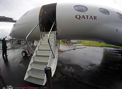 Qatar Executive - A7-CGC - Farnborough Airport (FAB/EGLF) (Andrew_Simpson) Tags: a7cgc qatarexecutiveairways gulfstreamg650 gulfstreamaerospace gulfstreamg6 gulfsteram650 gulfstream g650 g6 gvi qatarexecutive qatarairways qatar qatari arab bizjet businessjet privatejet executivejet goproaviaton gopropic goprophoto goprophotography fisheye whatsyourangle farnboroughairport fanrboroughinternationalairport farnboroughinternational farnboroughairshow farnboroughinternationalairshow farborough fab eglf hampshire airshow airdisplay fia fia16 fia2016 uk aircraft aviation avgeek avporn aviationgeek aviationporn planepic planephoto planes plane aircraftpic airplane aeroplane unitedkingdom gb greatbritian england
