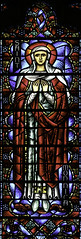 Saint Monica (Lawrence OP) Tags: monica saints cathedral grace sanfrancisco charlesconnick stainedglass windows