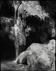Cascade des tufs (Philippe Torterotot) Tags: 4x5 chamonix45n2 fomapan100 largeformat grandformat film analog argentique jura france francia frankreich