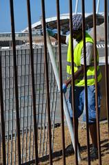 Kennedy28 (Genova citt digitale) Tags: richiedenti asilo genova piazzale kennedy agosto 2016 volontari nigeria lavoro ilva