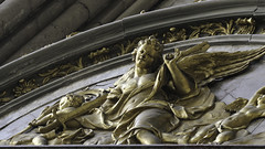 Golden Angel (Lawrence OP) Tags: france amiens cathedral gold angel sculpture
