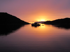 Glen Massan in Loch Na Droma Buidhe