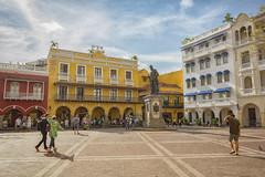 Cartagena 2017 (JBOA) Tags: pedro de heredia cartagena colombia plaza los coches