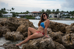 Noel (frankgiaquinto487) Tags: hot sexy nikon lady female beach rocks inlet florida jupiter outside soflo southflorida beautiful gorgeous model d750 lightroom nature exotic