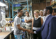 IMG_1017  Premier Kathleen Wynne toured RAM Plastics in Scarborough. (Ontario Liberal Caucus) Tags: scarborough industry thiru smallbusiness business