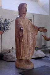 20160421-E (Heinrock) Tags: art church gamlastan kyrka panasoniclumixdmcgx1 sculpture stockholm sweden jesus christ