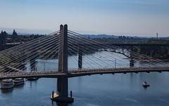Tilikum Crossing, Portland, Oregon (Tony Webster) Tags: i5 oregon portland tilikumcrossing willametteriver bridge river unitedstates us