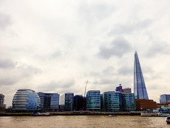 View from the Tower of London, The Shard (photphobia) Tags: london uk southwark southbank thames thamesbank river shard theshard skyscraper skyline oldwivestale architecture buildings building buildingsarebeautiful water outdoor sky cloud cloudy clouds