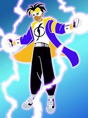 static-shock (VisualStation) Tags: static staticshock dccomics superheroes electricity dccomicssuperheroes animatedseries kidswb saturdaymorningcartoons warnerbros wb virgilhawkins dc