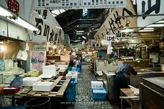 Tsukiji Fish Market (Pop_narute) Tags: tsukiji fishmarket market traditional life tokyo japan